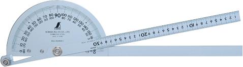 プロトラクター No.300 シルバー φ210 竿目盛30cm 2本竿 H500×W115×D25mm 660g, 片岡笑幸園「悠々の森」 c47c9e67