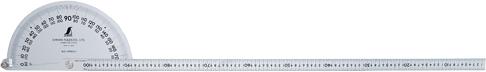【店内商品ポイント10倍!2月20日(木)0:00~23:59まで!】プロトラクター No.1000 シルバー φ320 竿目盛1m H1220×W175×D24mm 1562g