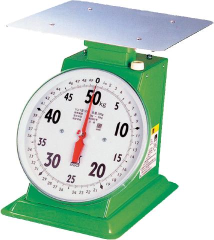 上皿自動はかり 50kg取引証明用 H380×W320×D355mm 11000g