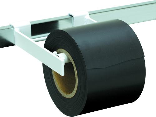 ゴム磁石シート 10cm×10m 0.8mm厚 ロール H10000×W100×D0.8mm 3000g