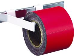 マグシート つやなし 10cm×10m0.8mm厚 H10000×W100×D0.8mm 3100g 赤ロール