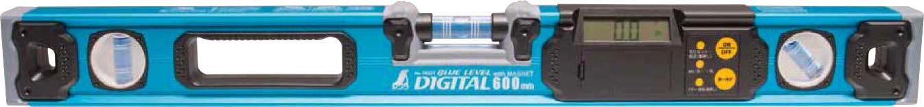 ブルーレベル デジタル 600mmマグネット付 H600×W65×D27mm 580g