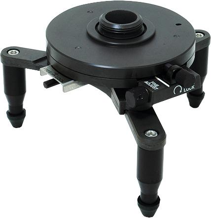 回転台 シフティング機構付 レーザーロボFine3C用 H150×W120×D120mm 1050g