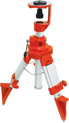 三脚 ハンドル式エレベータースライド式 短脚型 H560×W180×D180mm 4580g