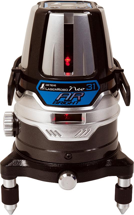 レーザーロボ Neo 31AR BRIGHT 縦・横全周・大矩・地墨 H128×W128×D190mm 1290g