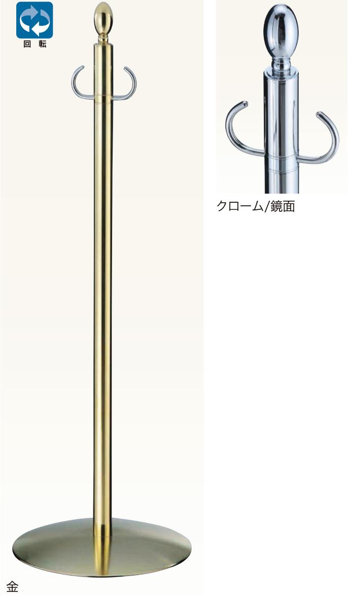 【送料無料 一部地域除く】シロクマ フロアパーティションポール FPP-1201 CR/鏡面