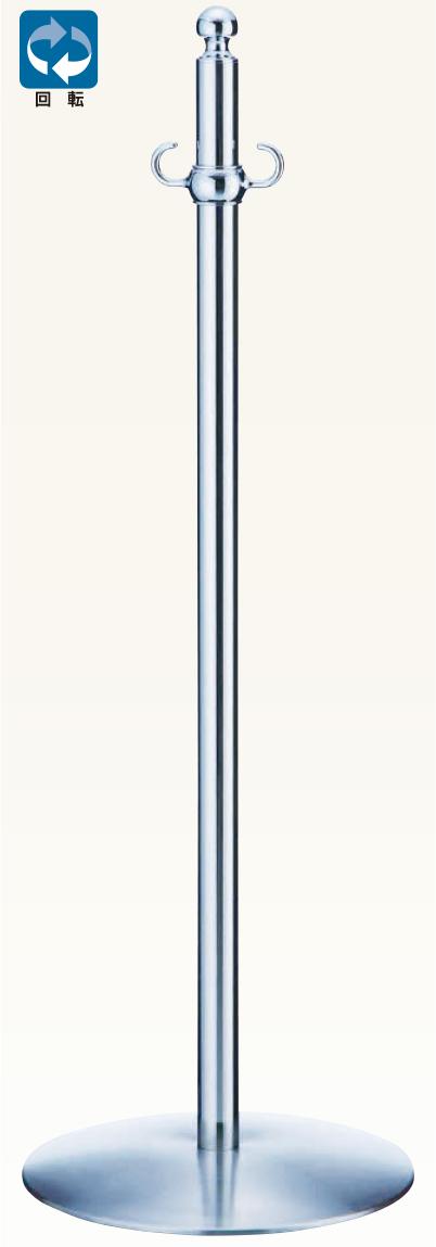 【送料無料 一部地域除く】シロクマ フロアパーティションポール FPP-1210 CR/鏡面