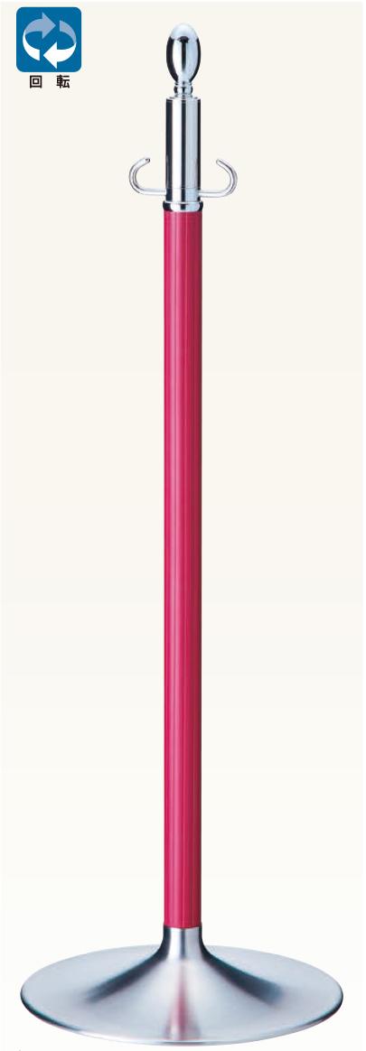 【送料無料 一部地域除く】シロクマ パーティションポール FPP-1115 CR/ワインレッド