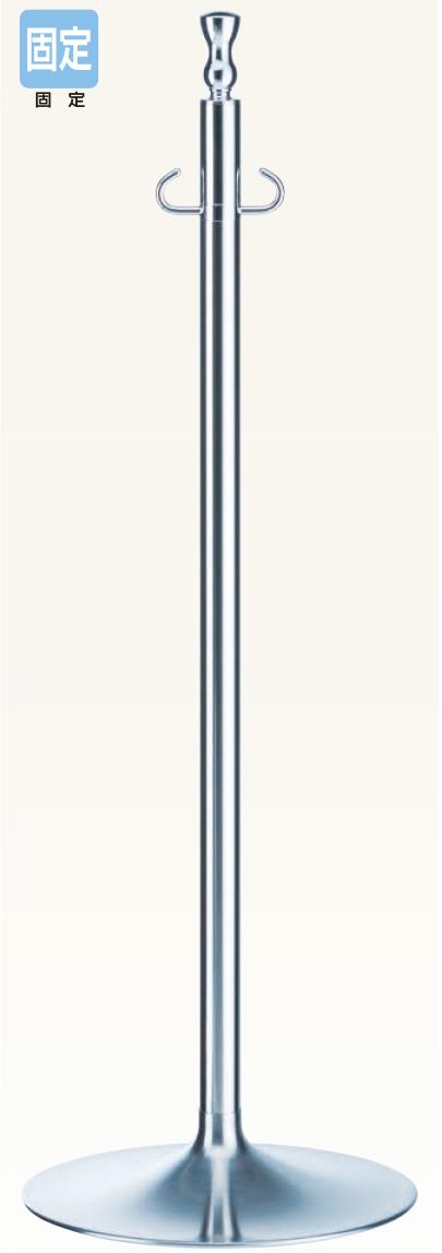 【送料無料 一部地域除く】シロクマ フロアパーティションポール FPP-1051 CR/鏡面