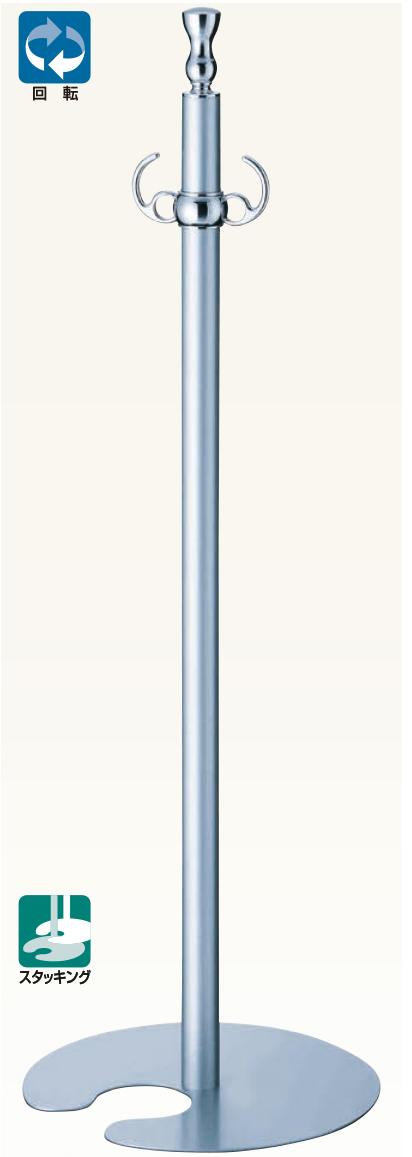【送料無料 一部地域除く】シロクマ フロアパーティションポール FPP-0261 CR/シルバー