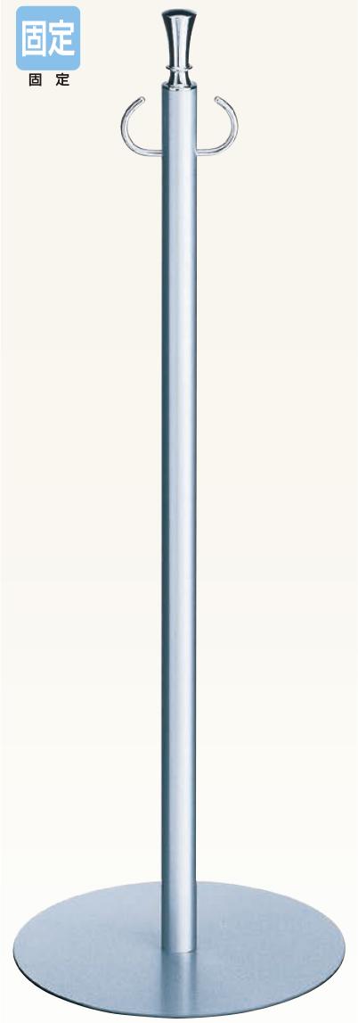 【送料無料 一部地域除く】シロクマ フロアパーティションポール FPP-0171 CR/シルバー