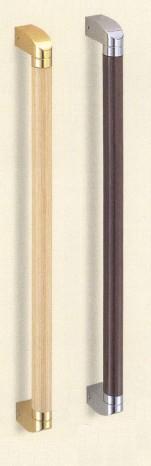 【シロクマ SHIROKUMA 白熊】 室内用補助手すり フィレット手すり ナチュラルウッド純金φ32 [br-582-a] br582a