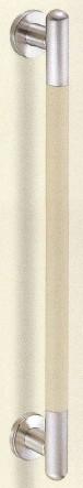 【シロクマ SHIROKUMA 白熊】 室内用補助手すり シート巻き手すり ベージュヘアーライン 32ø [br-872-b] br872b