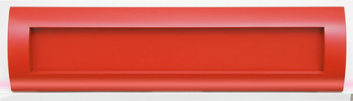【コーワソニア】【送料無料 一部地域除く】戸建郵便受箱 R905R ラッチ錠 レッド [※代引不可]