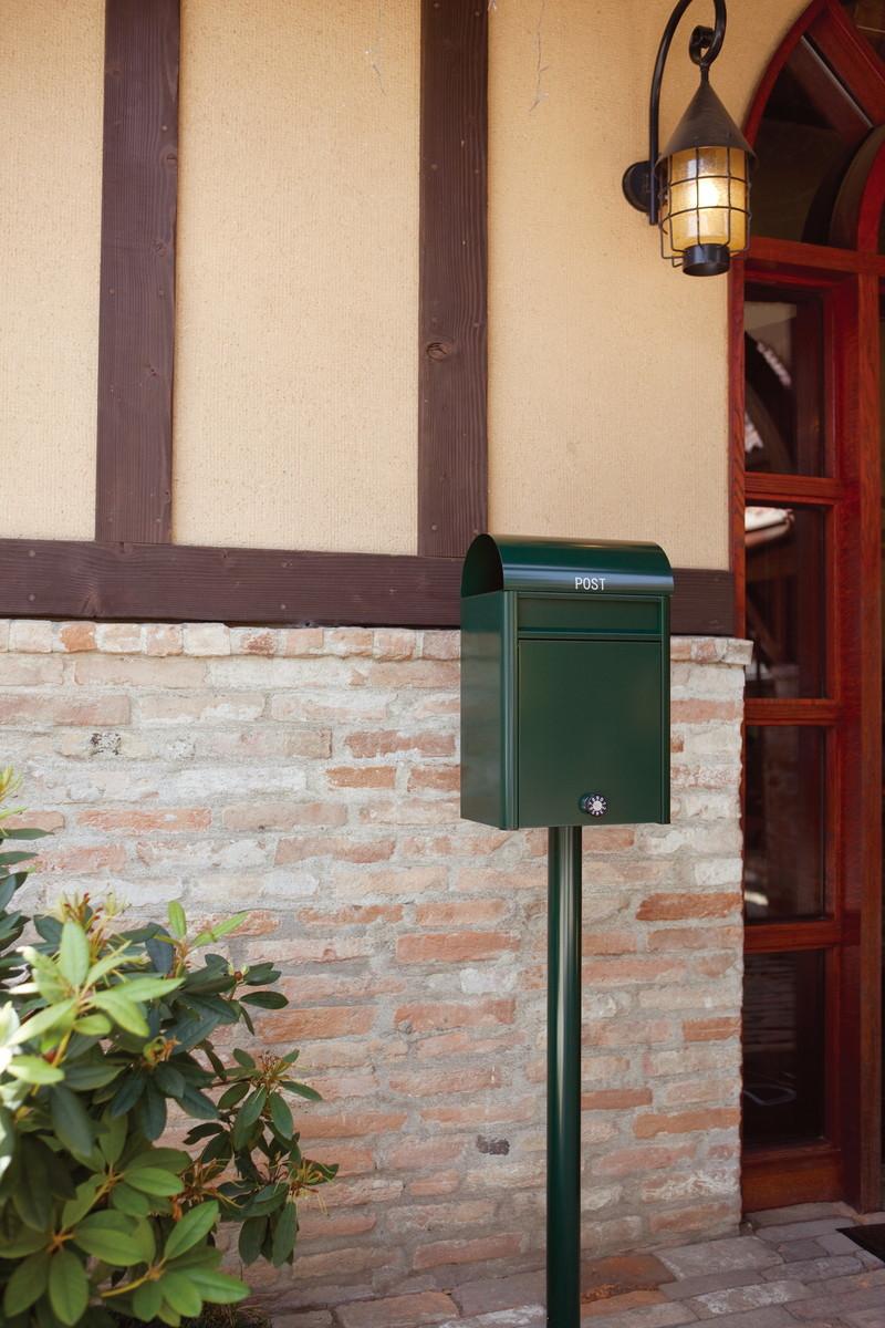 【コーワソニア】【送料無料 一部地域除く】戸建郵便受箱 pole(取付スタンド) [※代引不可]