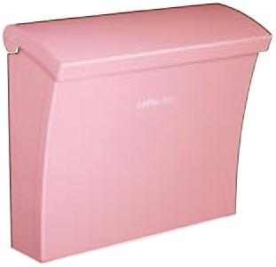 【コーワソニア】【Luce(ルーチェ)】戸建郵便受箱(上入れ 上出し) luce-pink/W390×H336×D148.5mm/ピンク [※代引不可]