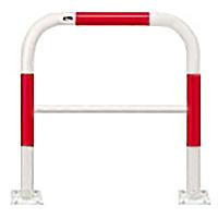 FAH-7B75-800【赤白】 アーチ 【ベース式】【※代引不可】