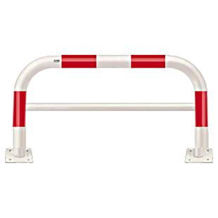 FAH-11B15-800【赤白】 アーチ 【ベース式】【※代引不可】