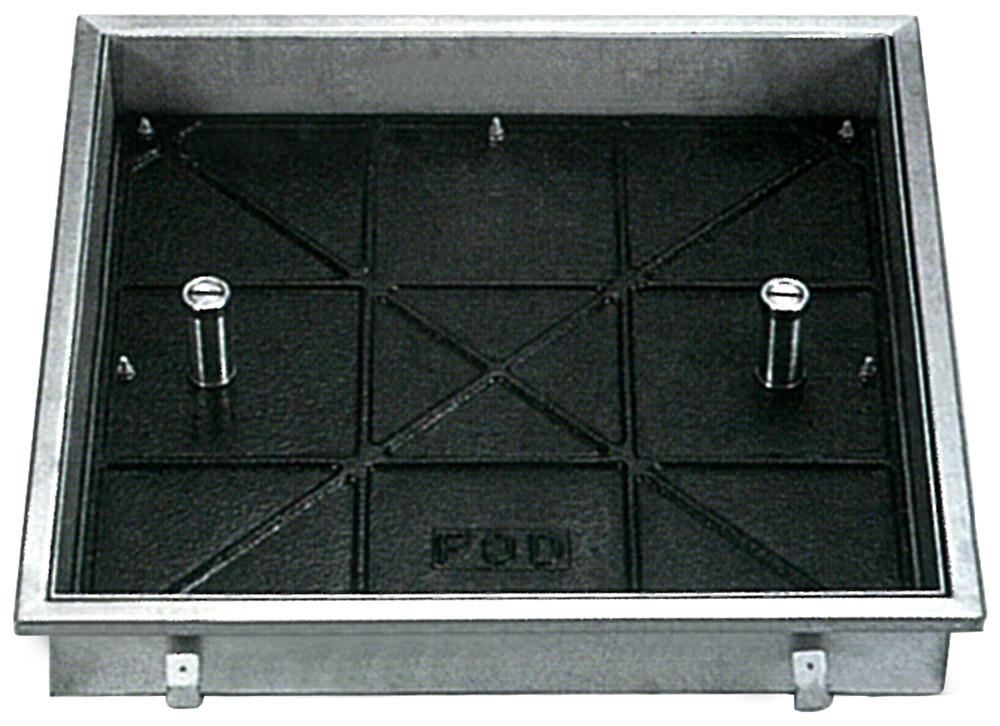 ファースト ステンレス フロアーハッチ インターロッキング用 T-20 貼代50 FIB50-500 開口W500×D500mm【※代引不可】