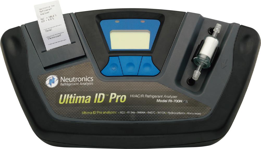 プリンター付冷媒分析器 TA400BR H100×W395×L200mm/1.4kg[※代引不可]