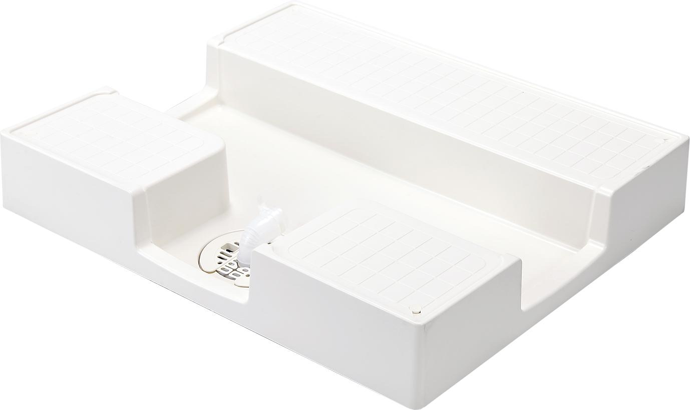 かさ上げ防水パン イージーパン TPD750 W750×D640×H120mm ニューホワイト [※代引不可]