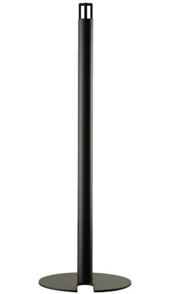 整列柱 移動式 LNP-612 φ48.6×t2.3 H900mm ウレタン樹脂塗装[※代引不可][個人宅送料別途見積]