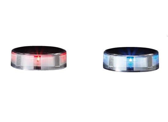 ソーラーLEDバリカー LEPG・LEPP・LEPS用交換ユニット 赤色LED[※代引不可][個人宅送料別途見積]