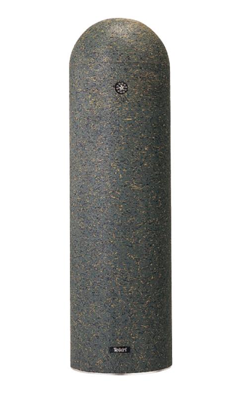 リサイクルゴムチップ EPG-01A φ200×H700mm グリーン[※代引不可][個人宅送料別途見積]