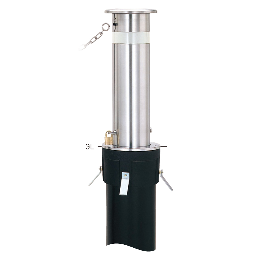 上下式スタンダード KS-1NCT φ165.2×t3.0 H600mm [※代引不可][個人宅送料別途見積]