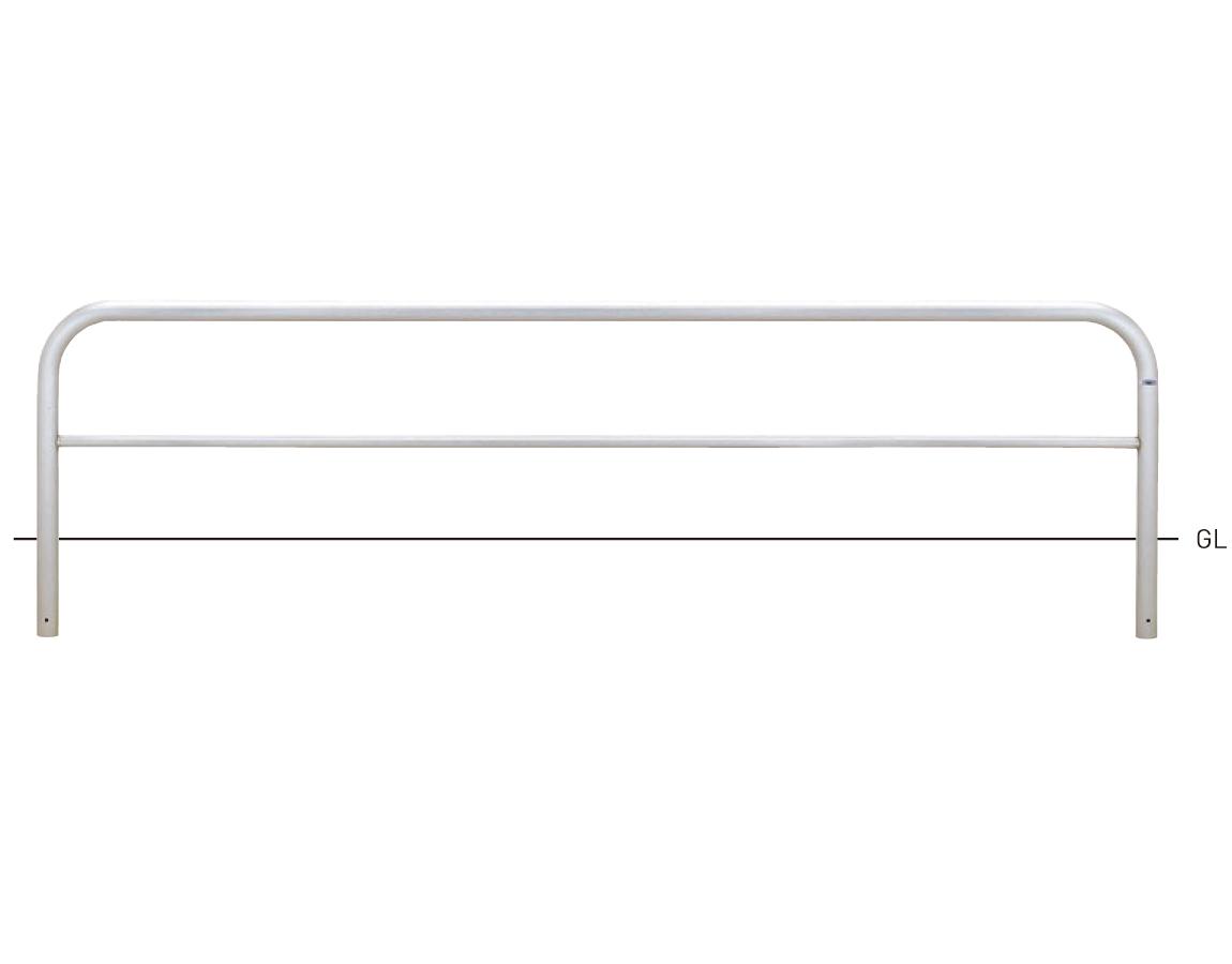 横型スタンダード(ステンレスタイプ) S82A3-30 φ60.5×t3.0 W3000×H650mm [※代引不可][個人宅送料別途見積]