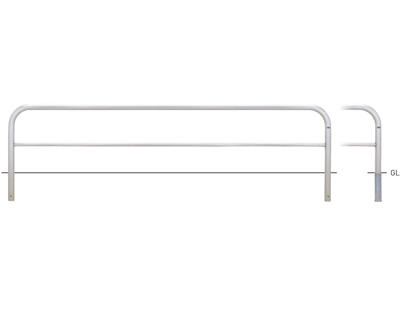 横型スタンダード(ステンレスタイプ) S82C3-30 φ60.5×t3.0 W3000×H650mm [※代引不可][個人宅送料別途見積]
