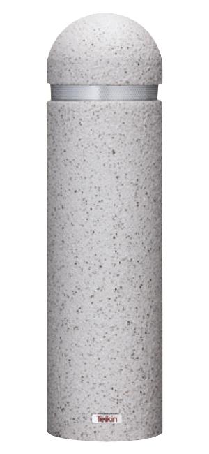 ストーンボラード(リアル擬石コーティング)脱着式 J58C-07 φ196/24.8kg [※代引不可][個人宅送料別途見積]