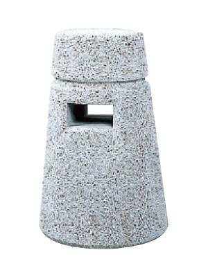 ストーンボラード(稲田擬石)脱着式 TPN-002D φ200/264×H450mm(全長700)50kg [※代引不可][個人宅送料別途見積]