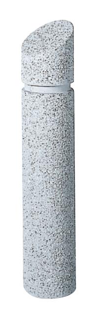 ストーンボラード(稲田擬石)固定式 TPN-403A φ160×H800mm(全長1100)51kg [※代引不可][個人宅送料別途見積]