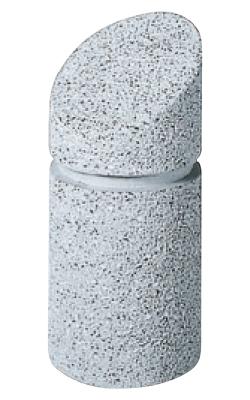 ストーンボラード(稲田擬石)固定式 TPN-701A φ250×H530mm(全長780)77kg [※代引不可][個人宅送料別途見積]