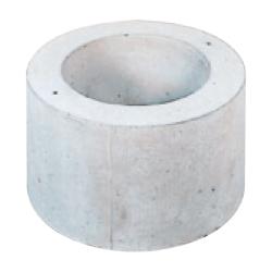 固定式用基礎ブロックBAN型 BAN-550 φ550/φ350×H300mm 102kg [※代引不可][個人宅送料別途見積]