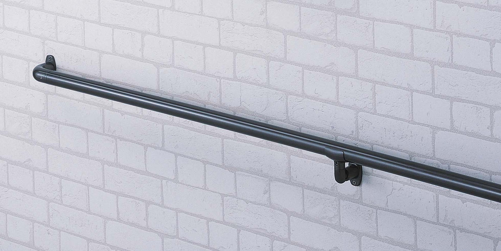 φ34屋外オーダー手すり CEY-2-MLB W1800mm メタリックライトブラウン[※代引不可]