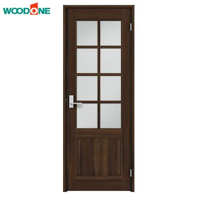 ウッドワン シングルドア(片開きドア)セット(固定枠・枠見込み90/113/155/170・デザインF-YJ)WOODONE ソフトアート 建具 内装ドア 立体框組デザインEタイプ