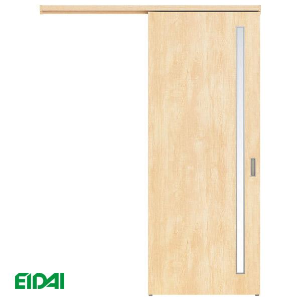 永大産業 アウトセット吊り戸セット【デザイン2M】<壁付タイプ>EIDAI Skism/スキスム 室内ドア 内装ドア 引戸 吊戸