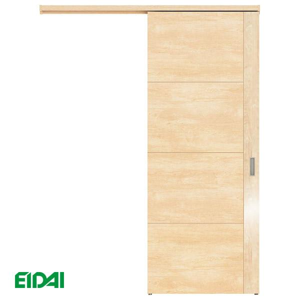 永大産業 アウトセット吊り戸セット【デザイン3T】<壁付タイプ>EIDAI Skism/スキスム 室内ドア 内装ドア 引戸 吊戸