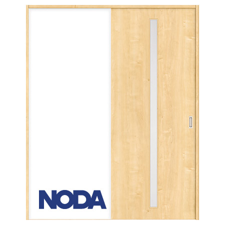 【NODA/ノダ】BINOIE(ビノイエ) 片引き戸セット 【D-22型】室内ドア 内装ドア 引戸(戸車) 採光タイプ 固定枠
