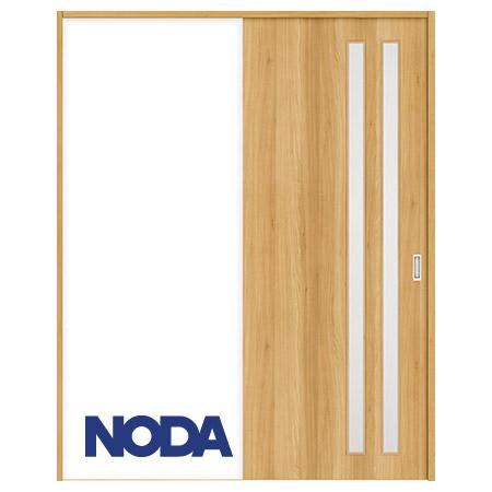 【NODA/ノダ】BINOIE(ビノイエ) 片引き戸セット 【D-24型】室内ドア 内装ドア 引戸(戸車) 採光タイプ 固定枠