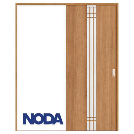 【NODA/ノダ】BINOIE(ビノイエ) 片引き戸セット 【D-33型】室内ドア 内装ドア 引戸(戸車) 採光タイプ 固定枠
