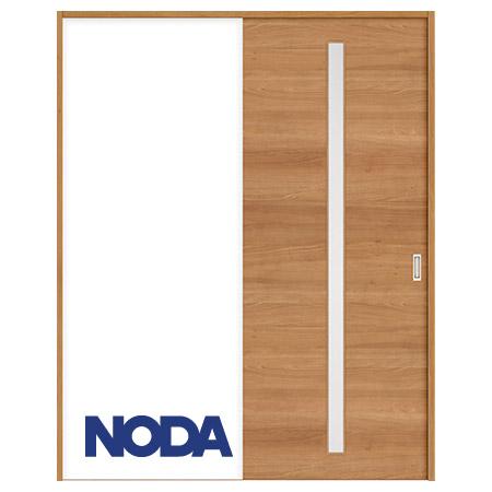 【NODA/ノダ】BINOIE(ビノイエ) 片引き戸セット 【E-23型】室内ドア 内装ドア 引戸(戸車) 採光タイプ 固定枠