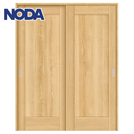 【NODA/ノダ】BINOIE(ビノイエ) 引違い戸セット 【B-61型】室内ドア 内装ドア 引戸(戸車) パネルタイプ 固定枠