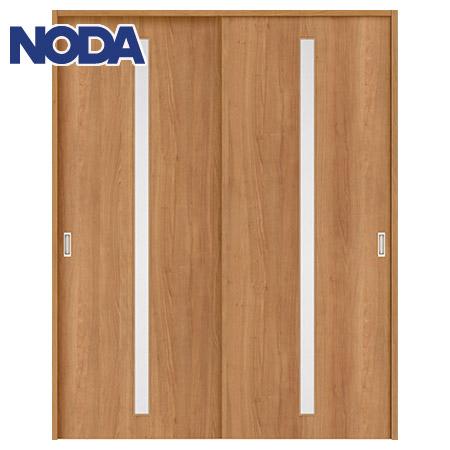 【NODA/ノダ】BINOIE(ビノイエ) 引違い戸セット 【D-22型】室内ドア 内装ドア 引戸(戸車) 採光タイプ 固定枠