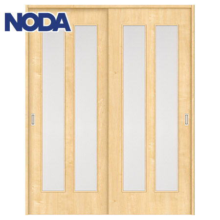 【NODA/ノダ】BINOIE(ビノイエ) 引違い戸セット 【D-27型】室内ドア 内装ドア 引戸(戸車) 採光タイプ 固定枠