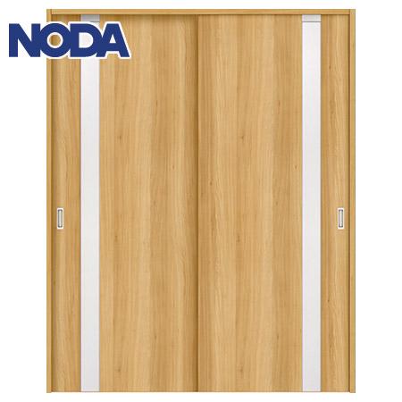 【NODA/ノダ】BINOIE(ビノイエ) 引違い戸セット 【D-31型】室内ドア 内装ドア 引戸(戸車) 採光タイプ 固定枠
