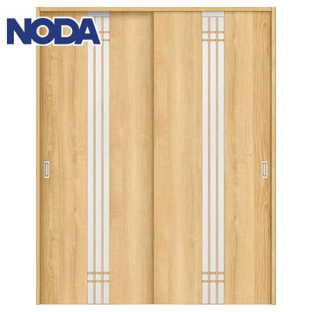 【NODA/ノダ】BINOIE(ビノイエ) 引違い戸セット 【D-33型】室内ドア 内装ドア 引戸(戸車) 採光タイプ 固定枠