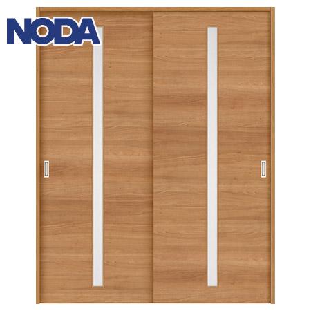 【NODA/ノダ】BINOIE(ビノイエ) 引違い戸セット 【E-23型】室内ドア 内装ドア 引戸(戸車) 採光タイプ 固定枠